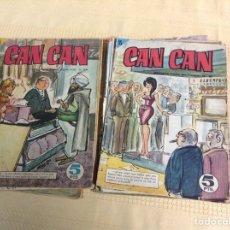 Coleccionismo de Revistas y Periódicos: LOTE DE 10 REVISTAS CAN CAN. Lote 177741900