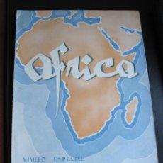Coleccionismo de Revistas y Periódicos: NUMERO ESPECIAL EL REPARTO DE AFRICA JULIO 1942. Lote 177779257