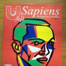 Coleccionismo de Revistas y Periódicos: REVISTA UMH SAPIENS LOTE DE DOS NÚMEROS. Lote 177817130