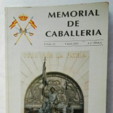 Coleccionismo de Revistas y Periódicos: REVISTA MEMORIAL DE CABALLERÍA N° 55 2003. Lote 177821533