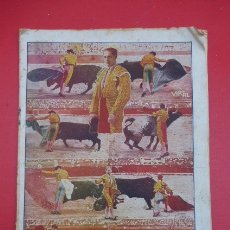Coleccionismo de Revistas y Periódicos: RARA REVISTA TAURINA,,EL CLARIN,,AÑO 1929,,MUY ILUSTRADA Y CON FOTOS..CON PEQUEÑOS DEFECTOS... Lote 177834425