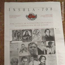 Coleccionismo de Revistas y Periódicos: INSULA 558 REVISTA DE LETRAS Y CIENCIAS HUMANAS DICIEMBRE 2005 LOLA BADIA ALBERTO BLECUA . Lote 177882995