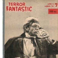 Coleccionismo de Revistas y Periódicos: TERROR FANTASTIC. TOMO RETAPADO CON LOS NROS. 7, 8, 9, 10, 11 Y 12. (VER FOTOS). (Z/20). Lote 177894353