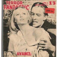 Coleccionismo de Revistas y Periódicos: TERROR FANTASTIC. TOMO RETAPADO CON LOS NROS. 13, 14, 16, 17, 18 Y 19. (VER FOTOS). (Z/20). Lote 177894774