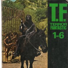 Coleccionismo de Revistas y Periódicos: TERROR FANTASTIC. TOMO RETAPADO CON LOS NROS. 1, 2, 3, 4, 5 Y 6. (VER FOTOS). (Z/20). Lote 177895369