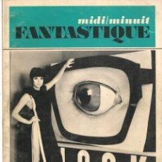 Coleccionismo de Revistas y Periódicos: MIDI / MINUIT FANTASTIQUE. . Nº 15, 16. / DÉCEMBRE 1966., JANVIER 1967. EDICIÓN EN FRANCÉS. (Z/20). Lote 177895802