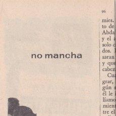 Coleccionismo de Revistas y Periódicos: PUBLICIDAD T 1958. ANUNCIO LE ROUGE BAISER. HENRY COLOMER - INSTITUTO AMERICANO (REVERSO). Lote 177936353