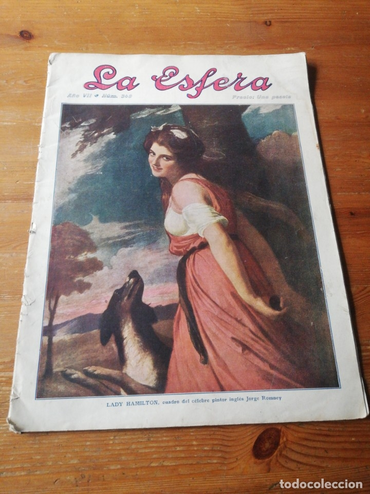 REVISTA LA ESFERA. NÚMERO 349. 1920. (Coleccionismo - Revistas y Periódicos Antiguos (hasta 1.939))