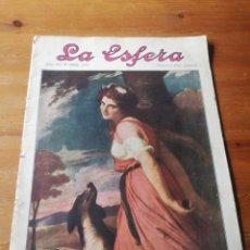 Coleccionismo de Revistas y Periódicos: REVISTA LA ESFERA. NÚMERO 349. 1920. . Lote 177979210