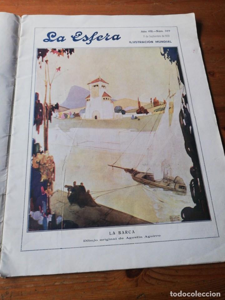 Coleccionismo de Revistas y Periódicos: Revista La Esfera. Número 349. 1920. - Foto 4 - 177979210