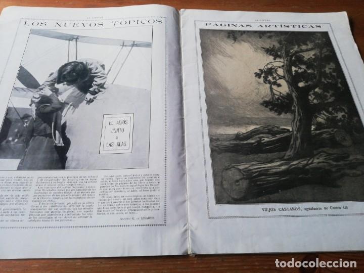 Coleccionismo de Revistas y Periódicos: Revista La Esfera. Número 349. 1920. - Foto 5 - 177979210