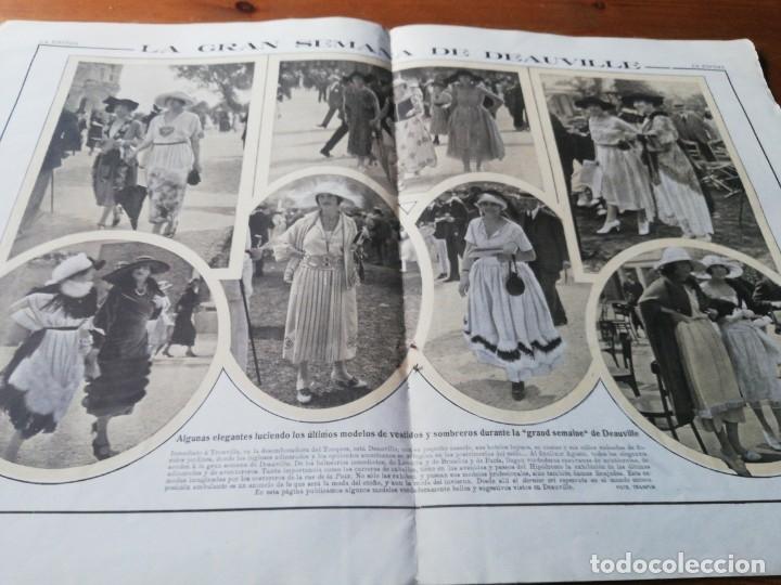 Coleccionismo de Revistas y Periódicos: Revista La Esfera. Número 349. 1920. - Foto 6 - 177979210