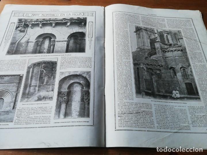Coleccionismo de Revistas y Periódicos: Revista La Esfera. Número 349. 1920. - Foto 7 - 177979210