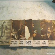 Coleccionismo de Revistas y Periódicos: REVISTA RELIGIOSA MENSAJERO DEL CORAZÓN DE JESÚS - 8 EJEMPLARES. Lote 177987328