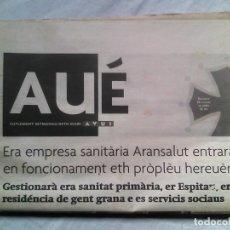 Coleccionismo de Revistas y Periódicos: AUÉ, SUPLEMENTO EN ARANÉS DEL DIARIO AVUI (2002-2003) / VAL D'ARAN /. Lote 106540055