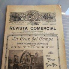Coleccionismo de Revistas y Periódicos: REVISTA COMERCIAL INDUSTRIAL AGRICOLA Y MINERA. SEVILLA MARZO 1913. Lote 178050003