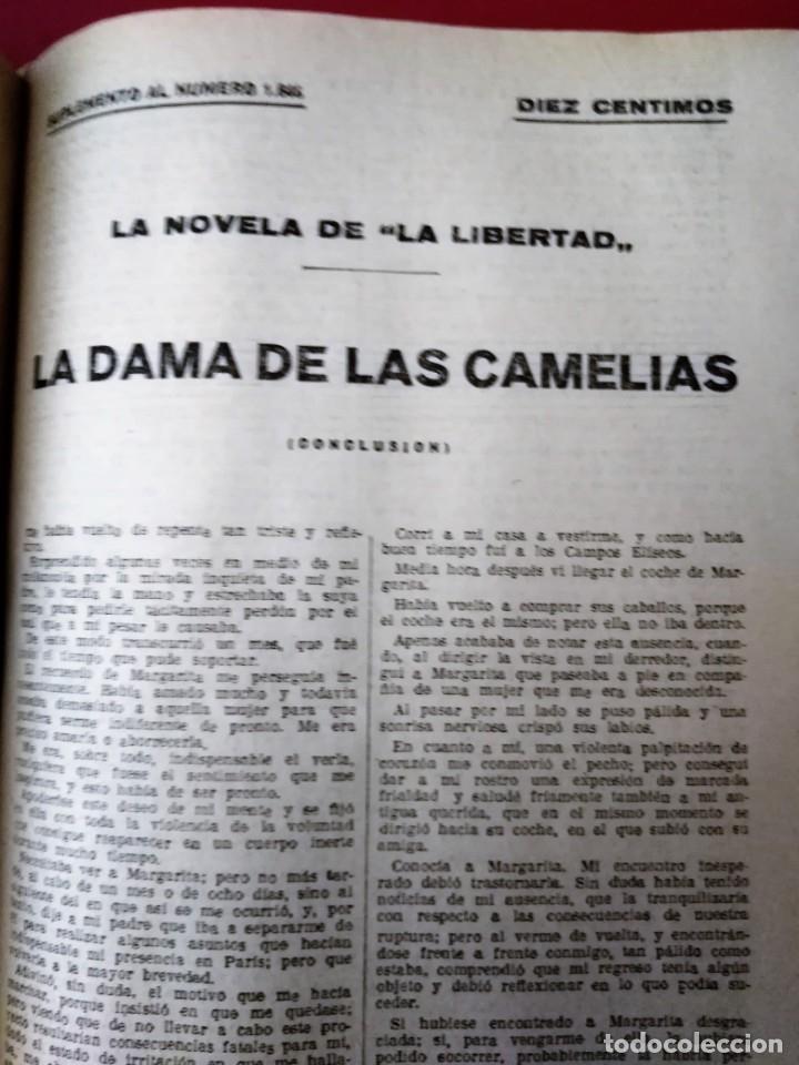 LA NOVELA DE LA LIBERTAD ( AÑOS 20) – 1 VOLÚMENES * CARLOS SAINZ DE TEJADA * FOLLETÍN * (Coleccionismo - Revistas y Periódicos Antiguos (hasta 1.939))