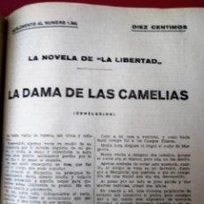 Coleccionismo de Revistas y Periódicos: LA NOVELA DE LA LIBERTAD ( AÑOS 20) – 1 VOLÚMENES * CARLOS SAINZ DE TEJADA * FOLLETÍN *. Lote 178118570