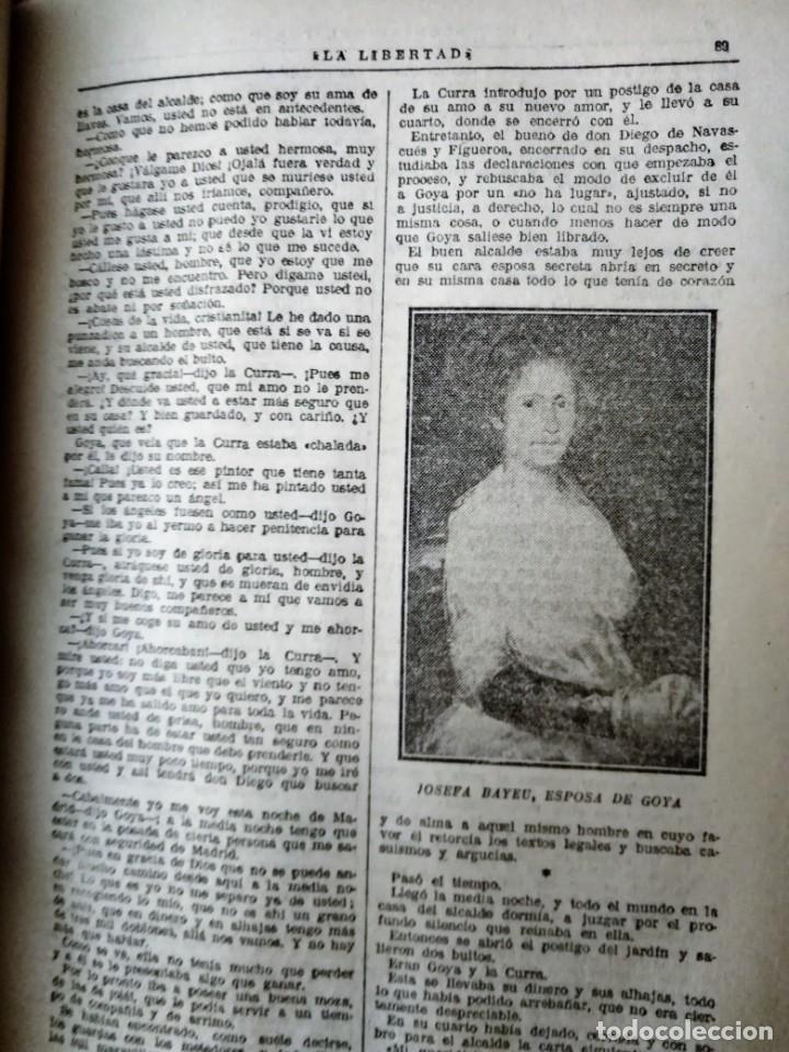 Coleccionismo de Revistas y Periódicos: La Novela de La Libertad ( años 20) – 1 volúmenes * CARLOS SAINZ DE TEJADA * FOLLETÍN * - Foto 3 - 178118570
