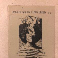 Coleccionismo de Revistas y Periódicos: ALVENTA N° 0 (BURGOS 1983). HISTÓRICO FANZINE ORIGINAL; REVISTA DE CREACIÓN Y CRÍTICA LITERARIA.. Lote 178123234