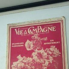 Coleccionismo de Revistas y Periódicos: VIE A LA CAMPAGNE 1936. Lote 178161718