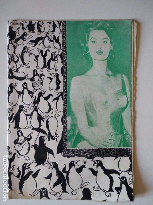 REVISTA PINGÜINOS Nº1 1956 JOSE TOUS BARBERAN PEP DE TOTS FUNDADOR ULTIMA HORA MALLORCA, UNICA. (Coleccionismo - Revistas y Periódicos Modernos (a partir de 1.940) - Otros)