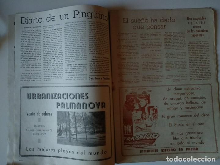 Coleccionismo de Revistas y Periódicos: REVISTA PINGÜINOS Nº1 1956 JOSE TOUS BARBERAN PEP DE TOTS FUNDADOR ULTIMA HORA MALLORCA, UNICA. - Foto 7 - 178169323
