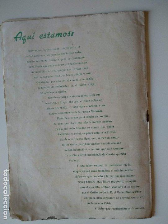 Coleccionismo de Revistas y Periódicos: REVISTA PINGÜINOS Nº1 1956 JOSE TOUS BARBERAN PEP DE TOTS FUNDADOR ULTIMA HORA MALLORCA, UNICA. - Foto 13 - 178169323