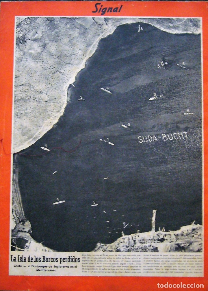Coleccionismo de Revistas y Periódicos: SIGNAL - NÚMERO 13 - JULIO DE 1941 - Foto 2 - 178171231