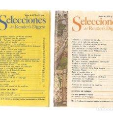 Coleccionismo de Revistas y Periódicos: SELECCIONES DEL READER´S DIGEST. LOTE 7 REVISTAS, AÑO 1979 (VER DESCRIPCIÓN) (P/B7). Lote 178192320
