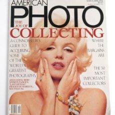 Coleccionismo de Revistas y Periódicos: REVISTA DE FOTOGRAFÍA AMERICAN PHOTO. MARZO/ABRIL 1995. MARILYN MONROE. Lote 178201742