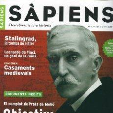 Coleccionismo de Revistas y Periódicos: REVISTA SAPIENS N. 6. ABRIL 2003 . Lote 178216111