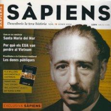 Coleccionismo de Revistas y Periódicos: REVISTA SAPIENS N. 15. GENER 2004 . Lote 178216161