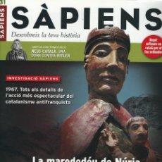 Coleccionismo de Revistas y Periódicos: REVISTA SAPIENS N. 31. MAIG 2005. Lote 178216242