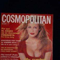 Coleccionismo de Revistas y Periódicos: REVISTA COSMOPOLITAN NOVIEMBRE 1994. PORTADA CLAUDIA SCHIFFER. Lote 178235271