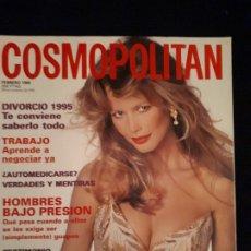Coleccionismo de Revistas y Periódicos: REVISTA COSMOPOLITAN FEBRERO 1995. PORTADA CLAUDIA SCHIFFER. Lote 178235366