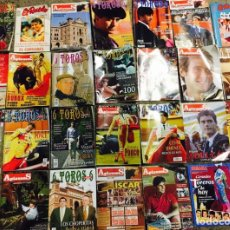 Coleccionismo de Revistas y Periódicos: LOTE REVISTAS TAURINAS / APLAUSOS TOROS TAUROMAQUIA. Lote 178243045