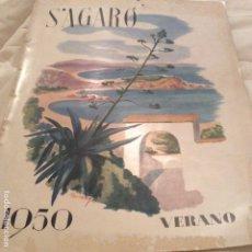 Coleccionismo de Revistas y Periódicos: 1950 S AGARO COSTA BRAVA. Lote 178243737