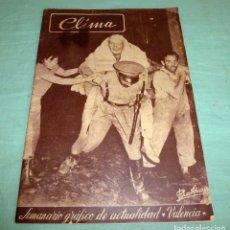 Coleccionismo de Revistas y Periódicos: VALENCIA. SEMANARIO GRÁFICO CLIMA 149 DE 1957. RIADA DE VALENCIA.. Lote 178251207