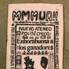 Coleccionismo de Revistas y Periódicos: MMMUA! N° 3 (MADRID 1976). HISTÓRICO FANZINE ORIGINAL HECHO POR EL ZURDO, MONCHO ALPUENTE, MAX STREL. Lote 178284261