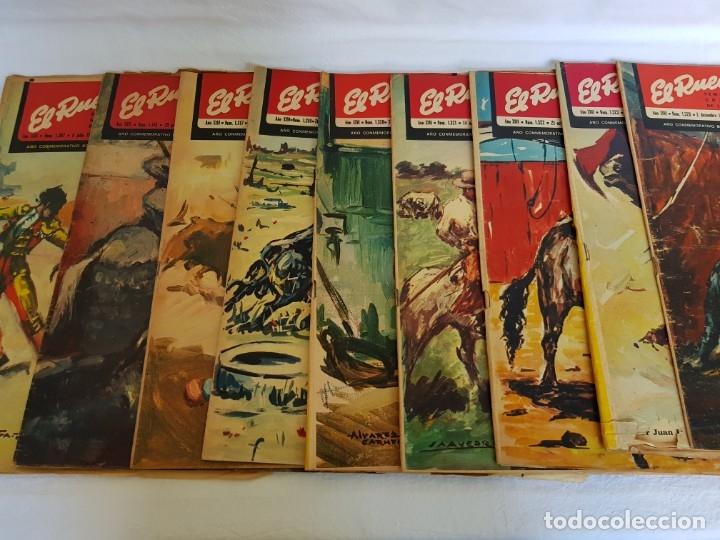 EL RUEDO - LOTE NºS SUELTOS DEL AÑO 1944 (VER EN DESCRIPCIÓN) (Coleccionismo - Revistas y Periódicos Modernos (a partir de 1.940) - Otros)