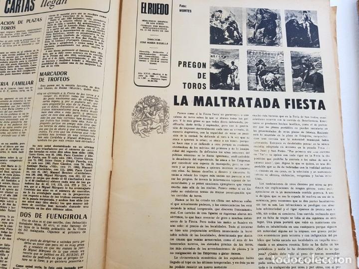 Coleccionismo de Revistas y Periódicos: El Ruedo - Lote nºs sueltos del año 1944 (ver en descripción) - Foto 5 - 178339800