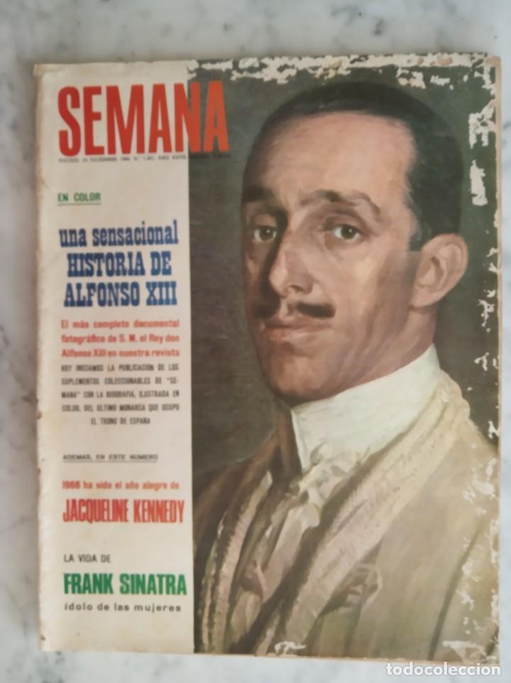 REVISTA SEMANA - LOS TRES SUDAMERICANOS - CLAUDIA CARDINALE - JANETH LEIGH - FRANK SINATRA - (Coleccionismo - Revistas y Periódicos Modernos (a partir de 1.940) - Otros)