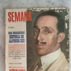 Coleccionismo de Revistas y Periódicos: REVISTA SEMANA - LOS TRES SUDAMERICANOS - CLAUDIA CARDINALE - JANETH LEIGH - FRANK SINATRA -. Lote 178370895