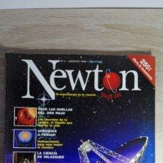 Coleccionismo de Revistas y Periódicos: REVISTA NEWTON Nº 4 AGOSTO 1998-¿ESTAMOS SÓLOS EN EL UNIVERSO?.350 PESETAS.. Lote 178373372