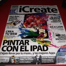 Coleccionismo de Revistas y Periódicos: LOTE 8 REVISTAS ¡CREATE LA REVISTA DE MAC ¡POD, ¡PHONE &¡PAD + REGALO. Lote 178373930