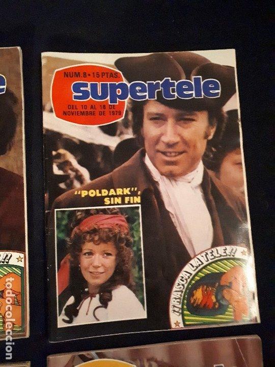 Coleccionismo de Revistas y Periódicos: LOTE 4 REVISTAS SUPERTELE - Foto 3 - 178379002