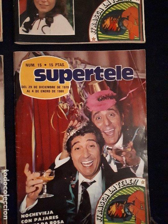 Coleccionismo de Revistas y Periódicos: LOTE 4 REVISTAS SUPERTELE - Foto 5 - 178379002