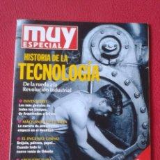 Coleccionismo de Revistas y Periódicos: REVISTA MAGAZINE MUY ESPECIAL Nº 23 OTOÑO 1995 HISTORIA DE LA TECNOLOGÍA, INVENTORES, MÁQUINAS....... Lote 178435631