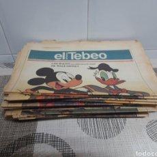Coleccionismo de Revistas y Periódicos: EL TEBEO. Lote 178563181